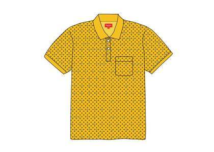 Supreme Foulard Polo Yellowの写真