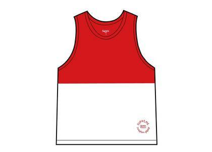 Supreme Split Tank Top Redの写真