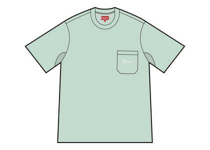 Supreme Terry Pocket Tee Mintの写真