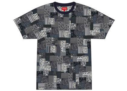 Supreme Patchwork Paisley S-S Top Blackの写真