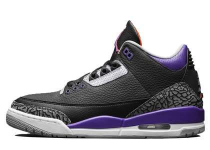 Nike Air Jordan 3 Retro Court Purpleの写真