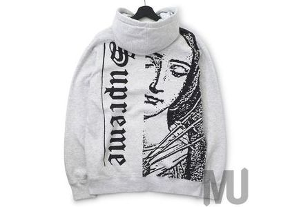 Supreme Mary Hooded Sweatshirt Ash Greyの写真