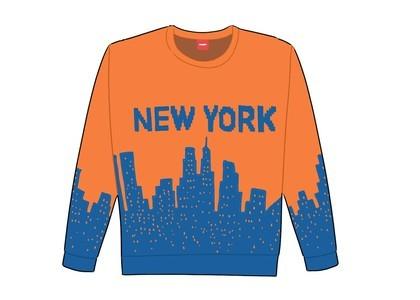 Supreme New York Sweater Orangeの写真