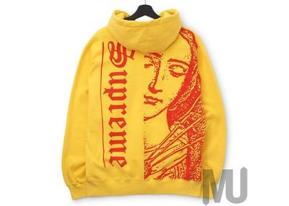 Supreme Mary Hooded Sweatshirt Pale Goldの写真