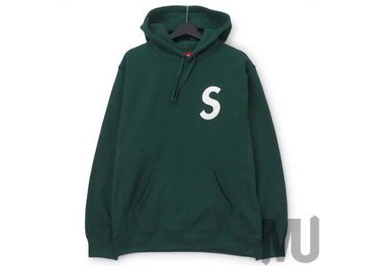 Supreme S Logo Hooded Sweatshirt (SS20) Dark Greenの写真