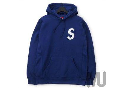 Supreme S Logo Hooded Sweatshirt (SS20) Dark Royalの写真