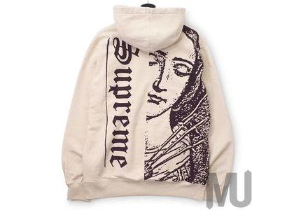 Supreme Mary Hooded Sweatshirt Naturalの写真