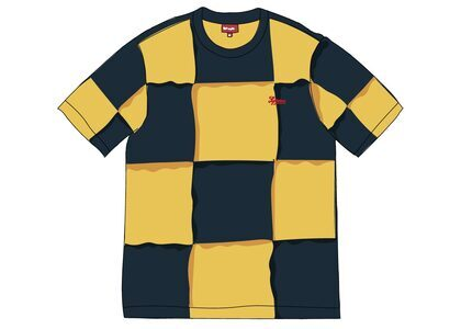 Supreme Patchwork S-S Top Navyの写真