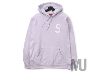 Supreme S Logo Hooded Sweatshirt (SS20) Light Purpleの写真