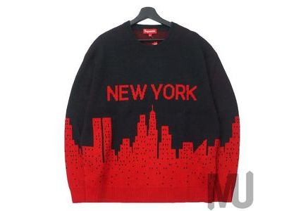 Supreme New York Sweater Blackの写真