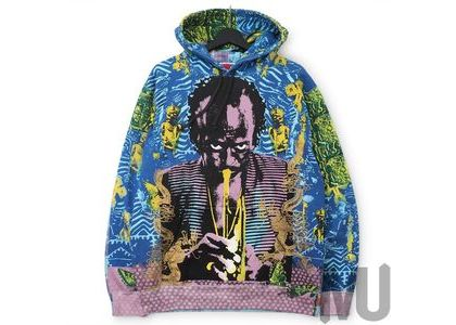 Supreme Miles Davis Hooded Sweatshirt Blueの写真