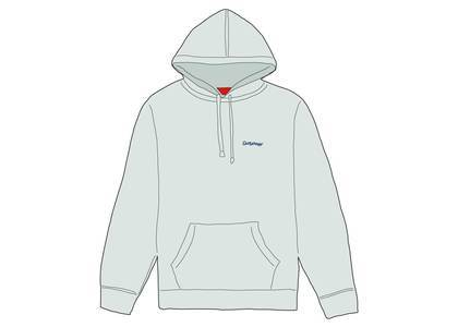 Supreme Mary Hooded Sweatshirt Pale Mintの写真