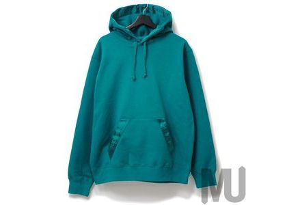 Supreme Tonal Webbing Hooded Sweatshirt Dark Aquaの写真