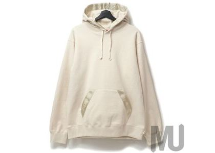 Supreme Tonal Webbing Hooded Sweatshirt Naturalの写真