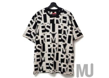 Supreme Spellout S-S Top Blackの写真