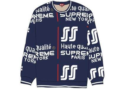 Supreme Qualite Sweater Navyの写真