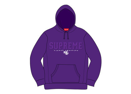 Supreme Gems Hooded Sweatshirt Purpleの写真
