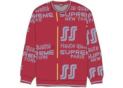 Supreme Qualite Sweater Pinkの写真