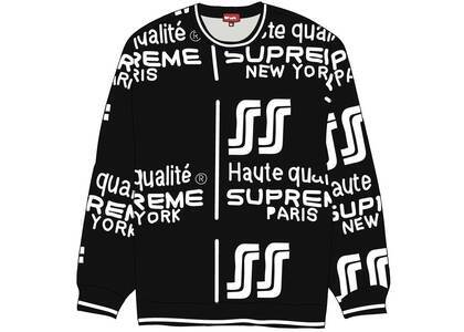 Supreme Qualite Sweater Blackの写真