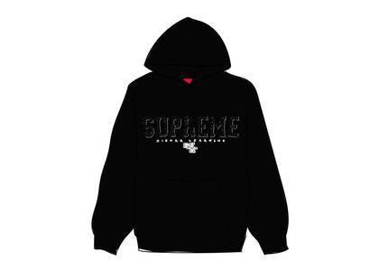 Supreme Gems Hooded Sweatshirt Blackの写真