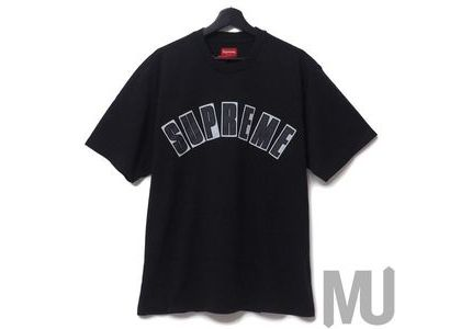 Supreme Arc Applique S-S S-S Top Blackの写真