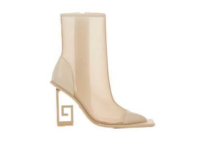 YELLO Hera Mesh Short Boots Beigeの写真
