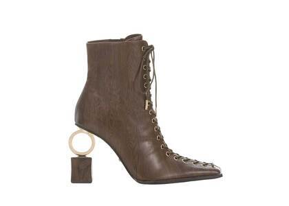 YELLO Mahogany Short Boots Brownの写真
