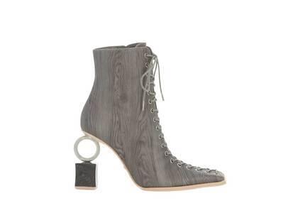 YELLO Barch Short Boots Grayの写真