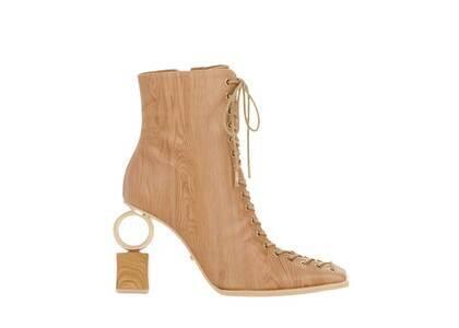 YELLO Hinoki Short Boots Light Brownの写真