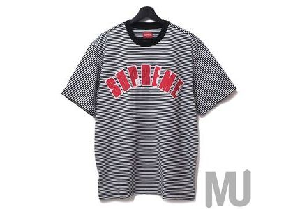 Supreme Arc Applique S-S S-S Top White Stripeの写真