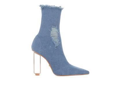 YELLO Blue Jean Baby Short Boots Blueの写真