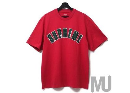 Supreme Arc Applique S-S S-S Top Redの写真