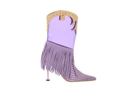 YELLO Baby Rodeo Short Purpleの写真