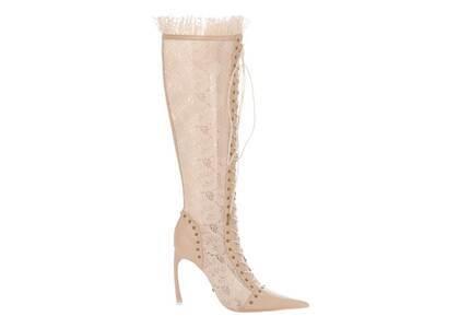 YELLO Bare Long Boots Beigeの写真