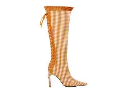 YELLO  Carrota Long Boots Orangeの写真