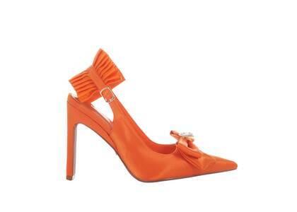 YELLO Clementine Mules Orangeの写真