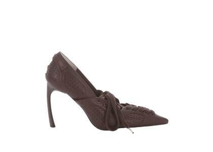 YELLO Dapper Sneaker Heels Brownの写真