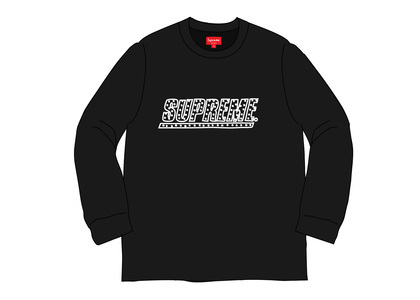 Supreme Studded L-S Top Blackの写真