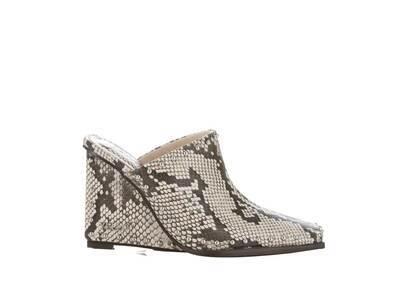 YELLO Kaa Sabot Heels Greyの写真