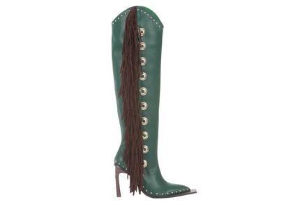 YELLO Randolph Long Boots Greenの写真