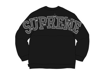Supreme Stars Crewneck Blackの写真