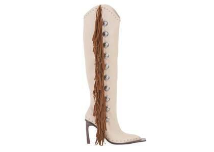 YELLO Apache Long Boots Beigeの写真