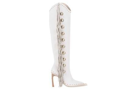 YELLO Artax Long Boots Whiteの写真
