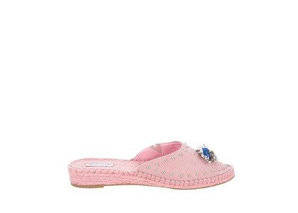 YELLO Dolly Dolly Espadrilles Pinkの写真