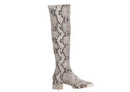 YELLO Kaa Knee Boots Grayの写真