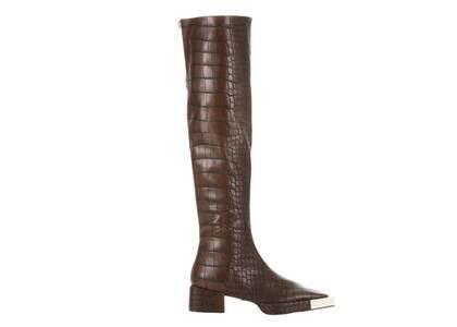 YELLO Brunetta Knee Boots Brownの写真