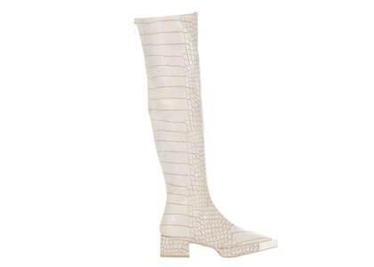 YELLO Hakuryu Knee Boots Whiteの写真