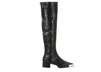 YELLO Kokuryu Knee Boots Blackの写真