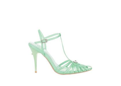 YELLO Pale Sandals Light Blueの写真