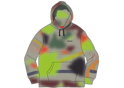 Supreme Rammellzee Hooded Sweatshirt Multicolorの写真